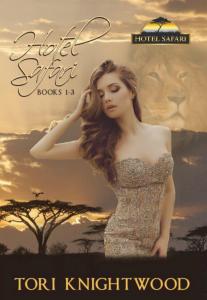 Tori's books - Hotel Safari paperback 1